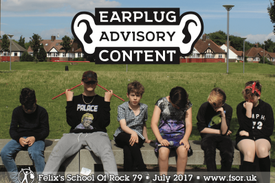 EARPLUG ADVISORY CONTENT