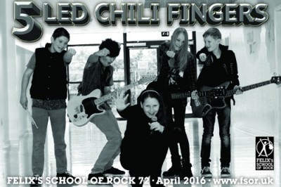 5 Led Chili Fingers