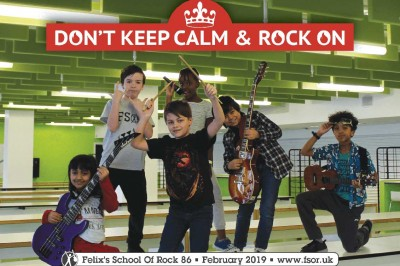 DON'T KEEP CALM ROCK ON