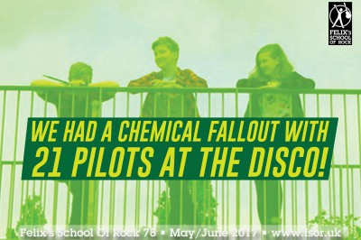 We Had A Chemical Fallout With 21 Pilots At The Disco!