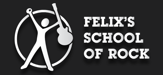 Felix's School of  Rock Logo